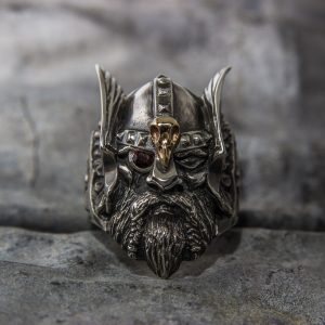 Odin w/ gold detail