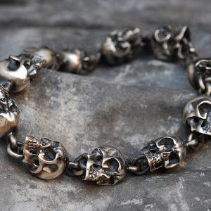 Evil Skull Bracelet